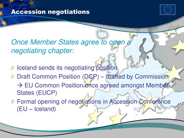 Accession negotiations