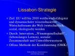 lissabon strategie