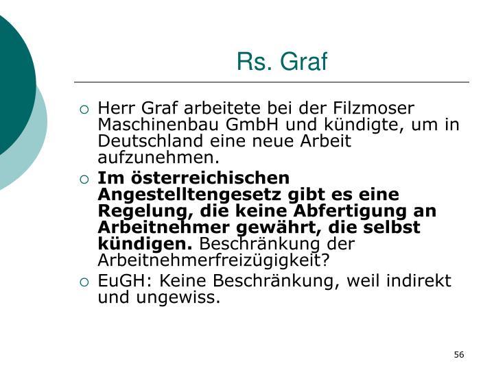 Rs. Graf