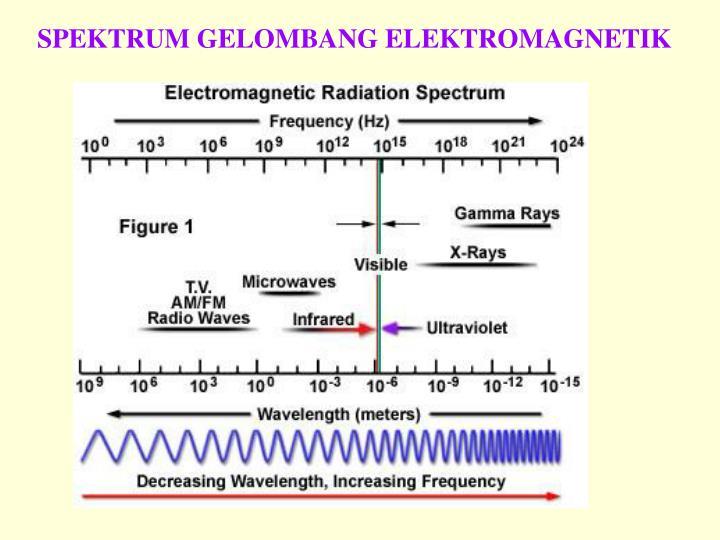 SPEKTRUM GELOMBANG ELEKTROMAGNETIK