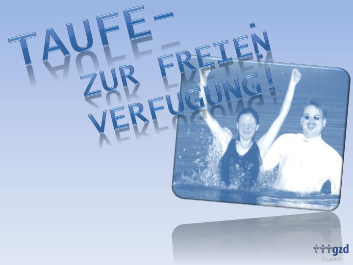 Taufe-