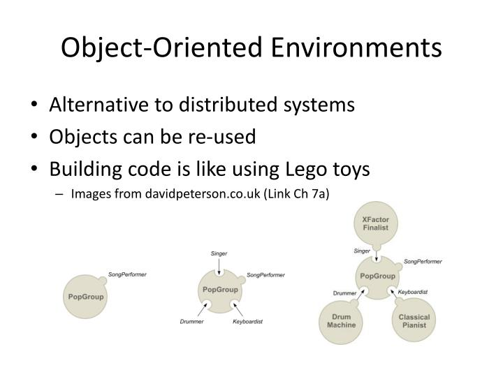 Object-Oriented Environments