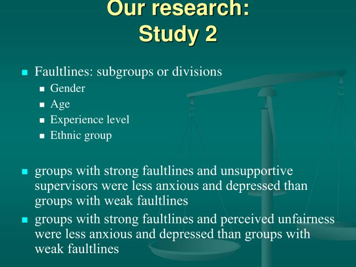 Our research: