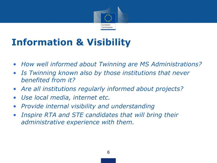 Information & Visibility