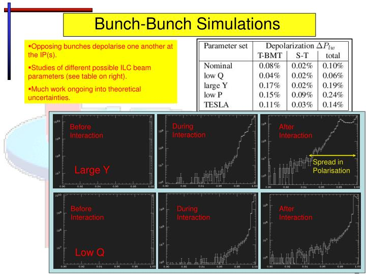 Bunch-Bunch Simulations