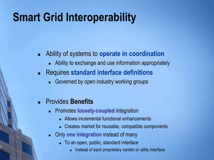 Smart Grid Interoperability