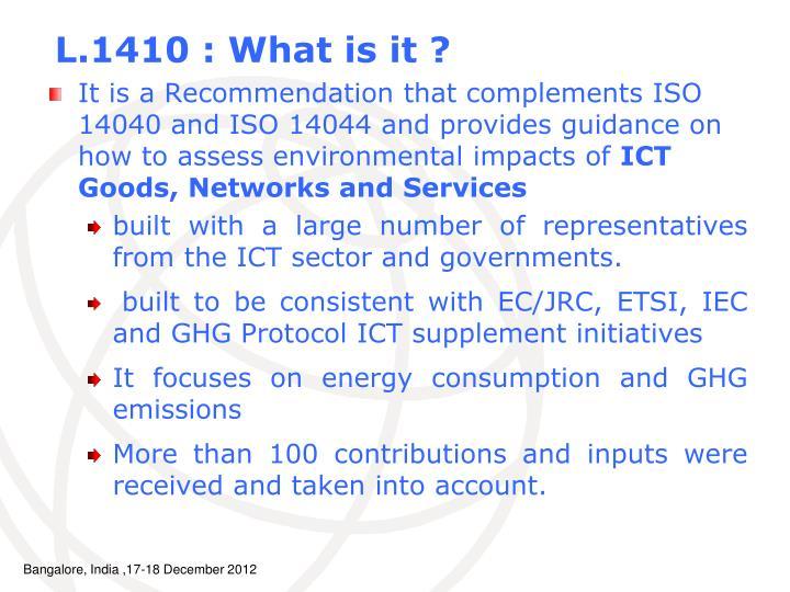 L.1410 : What is it ?