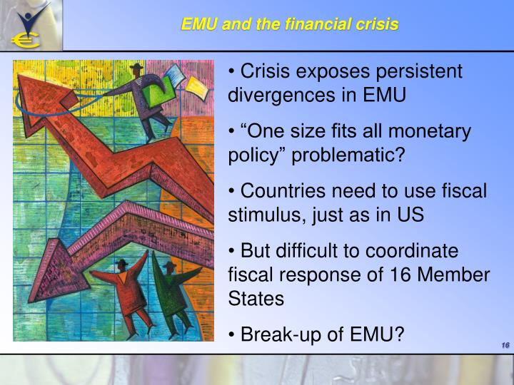 EMU and the financial crisis