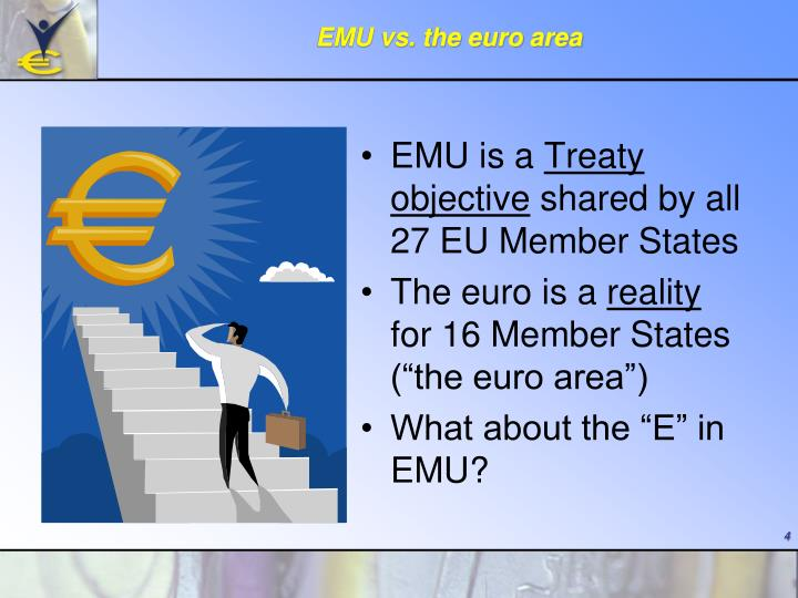 EMU vs. the euro area