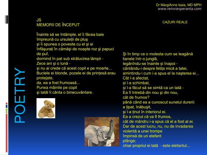 Dr MargiAnne Isaia,