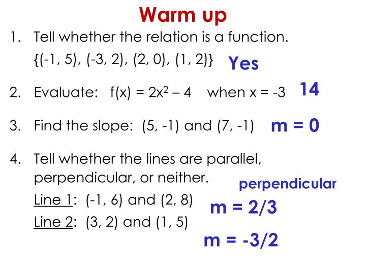 Tell whether the relation is a function.