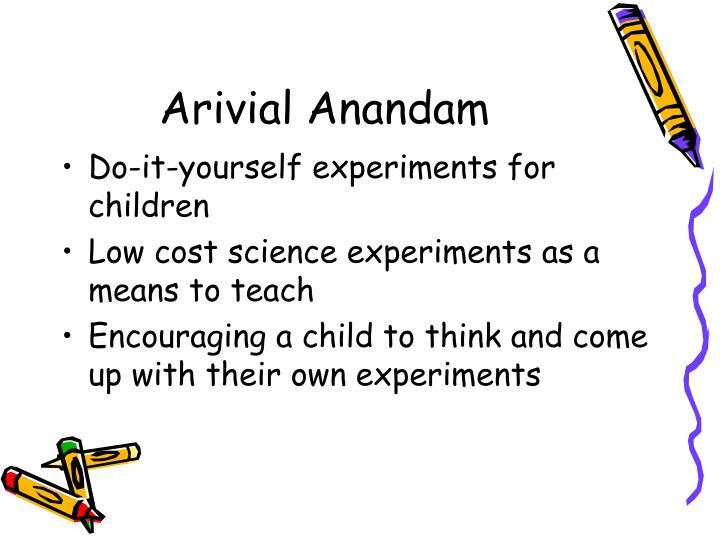Arivial Anandam