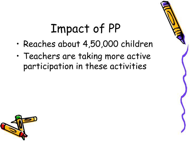 Impact of PP