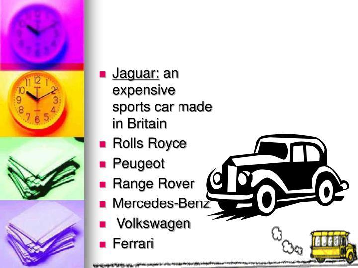 Jaguar: