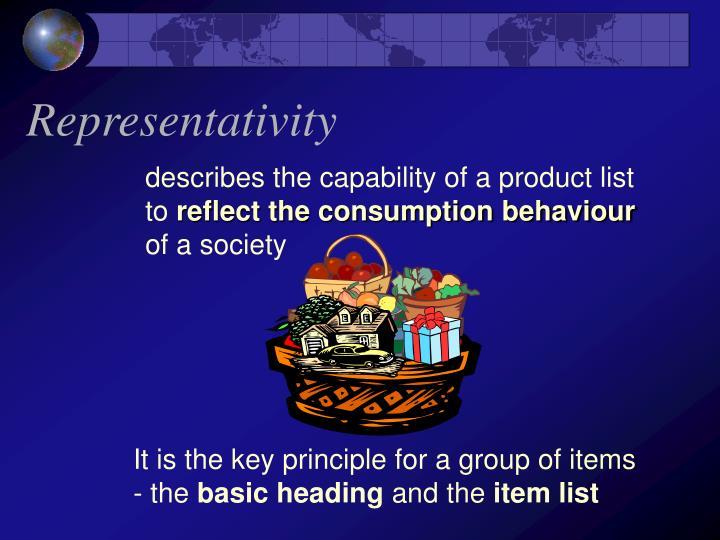 Representativity