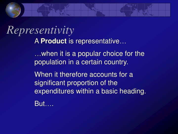 Representivity