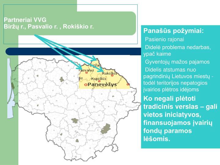 Partneriai VVG