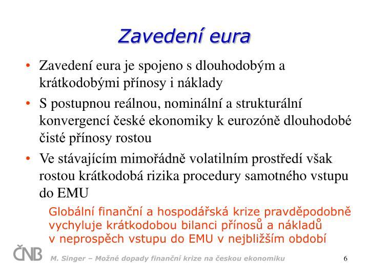 Zavedení eura