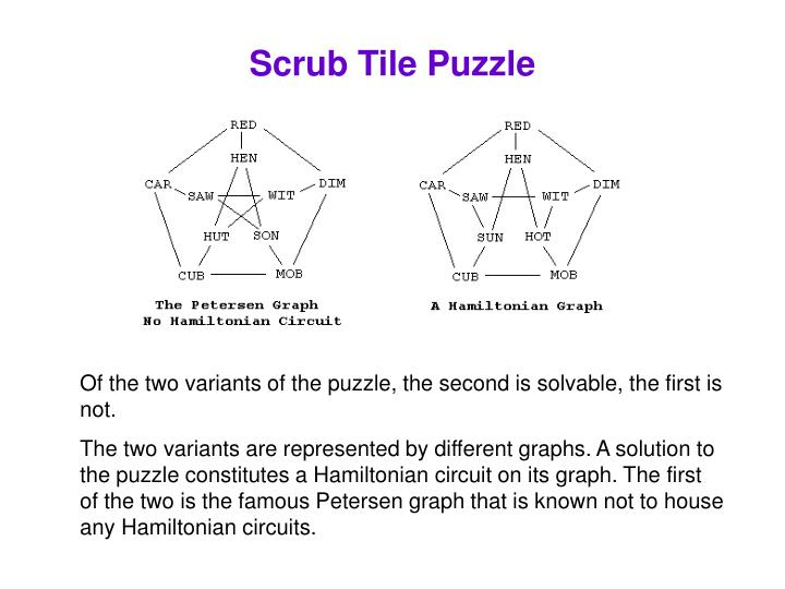 Scrub Tile Puzzle