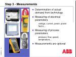 step 3 measurements