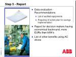 step 5 report