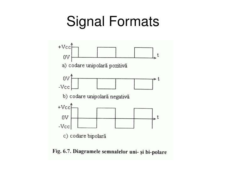 Signal Formats