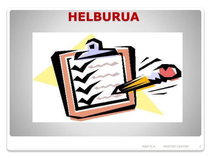 HELBURUA