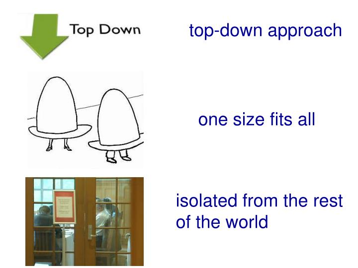top-down approach