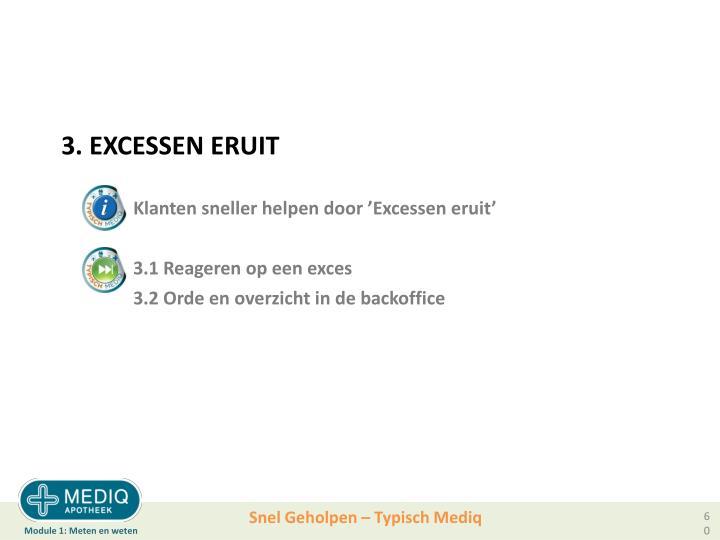 3. EXCESSEN ERUIT