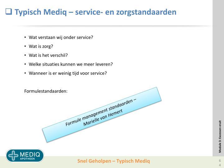 Typisch Mediq –