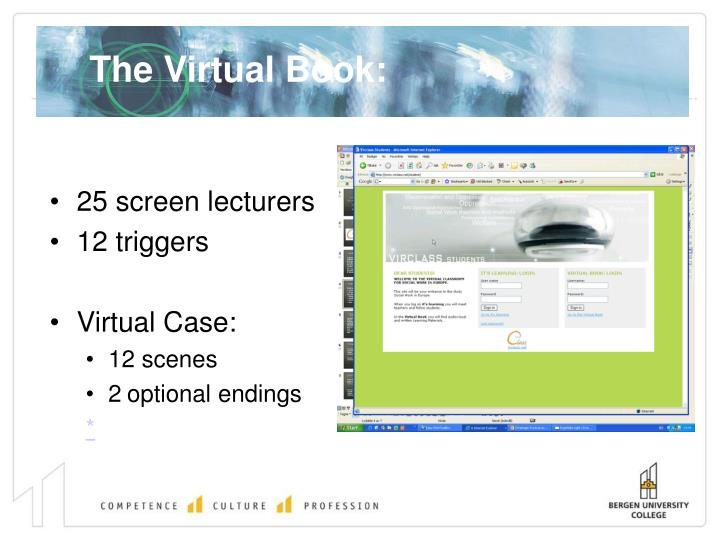 The Virtual Book: