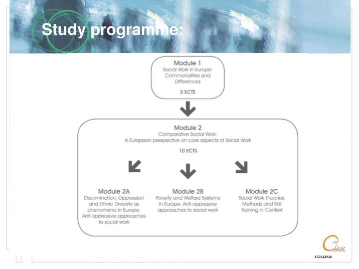 Study programme: