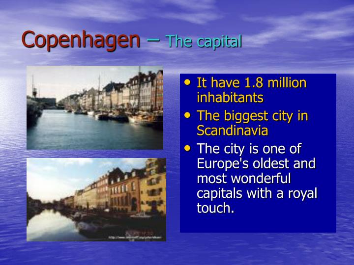 Copenhagen the capital