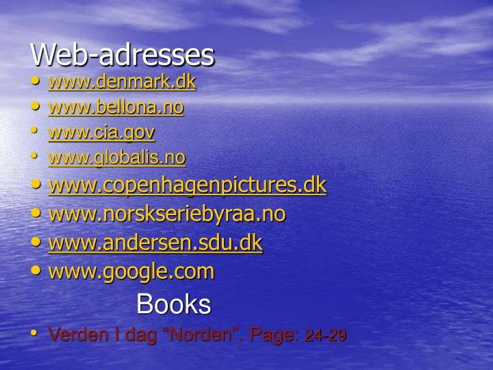 Web-adresses
