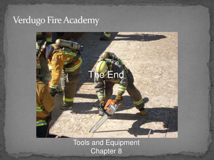 Verdugo Fire Academy