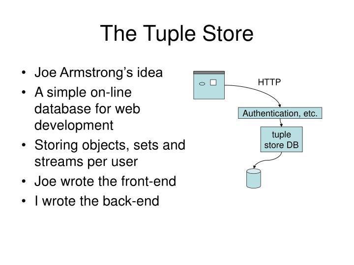 The Tuple Store