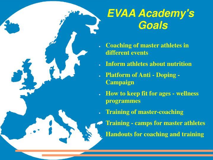 EVAA Academy's Goals