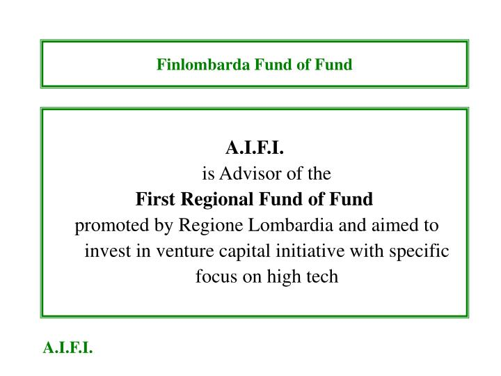 Finlombarda Fund of Fund