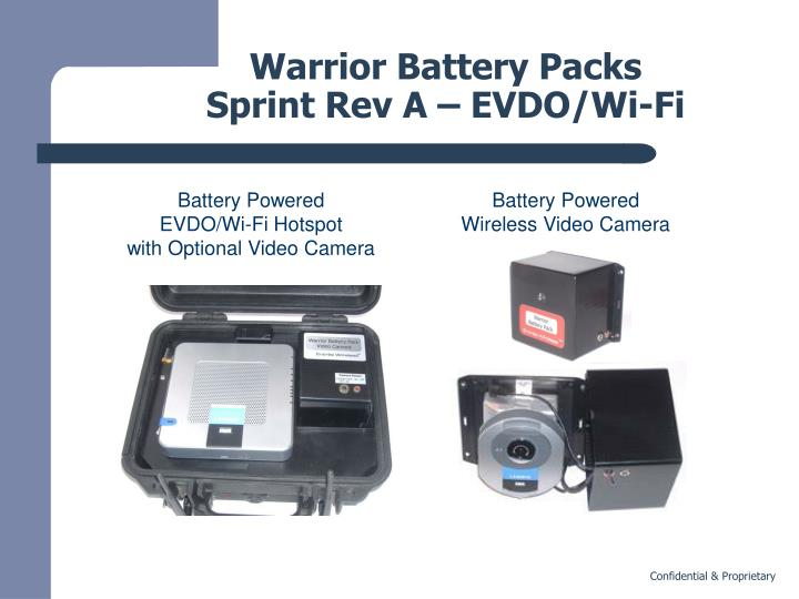 Warrior Battery Packs