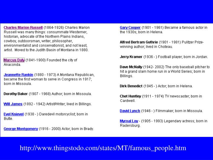 http://www.thingstodo.com/states/MT/famous_people.htm