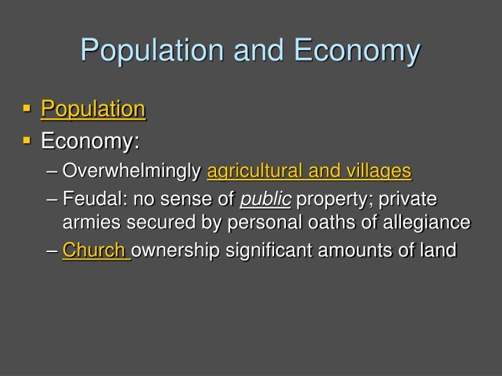 Population and Economy