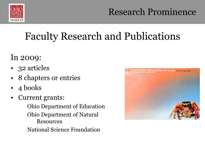 Research Prominence