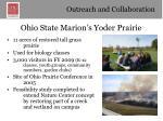 ohio state marion s yoder prairie