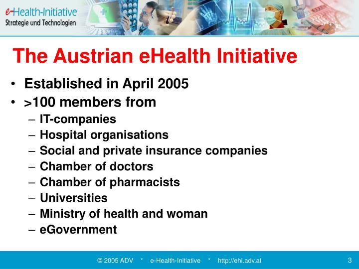The Austrian eHealth Initiative