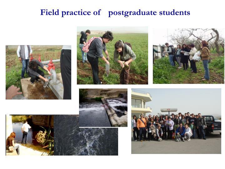 Field practice of