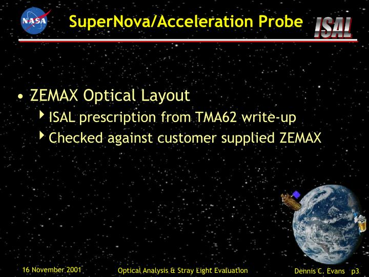 ZEMAX Optical Layout