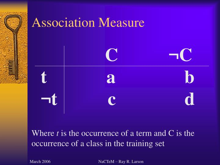 Association Measure