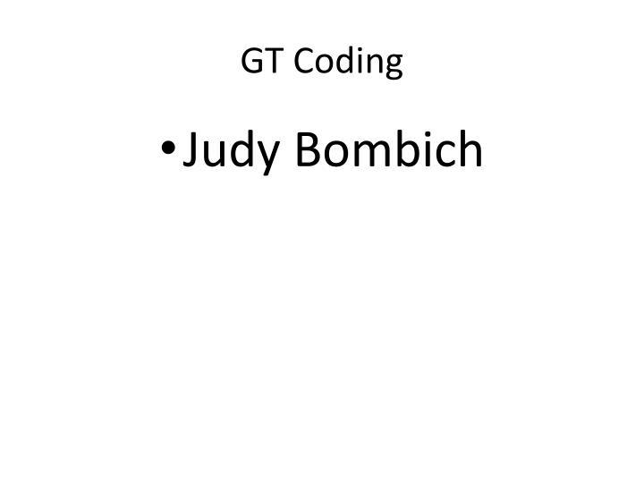 GT Coding