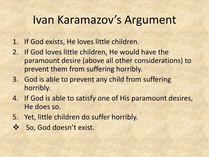 ivan karamazov argumentative essays