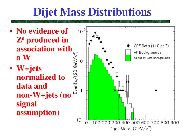 Dijet Mass Distributions